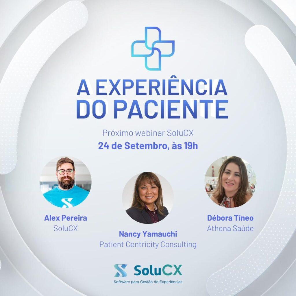 Webinar A Experiência do Paciente